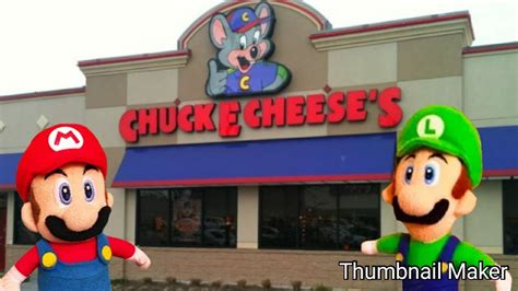 Mario Woody Go To Chuck E Cheese