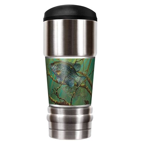 Mark Susinnos Muskie 18 Oz. Stainless Steel Travel Tumbler