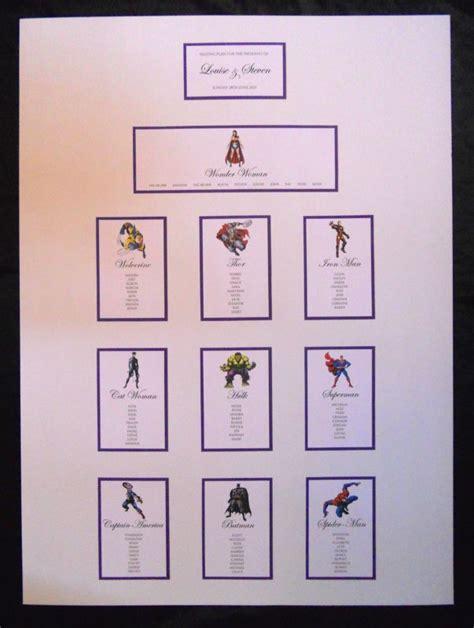 Marvel-Table-Plan