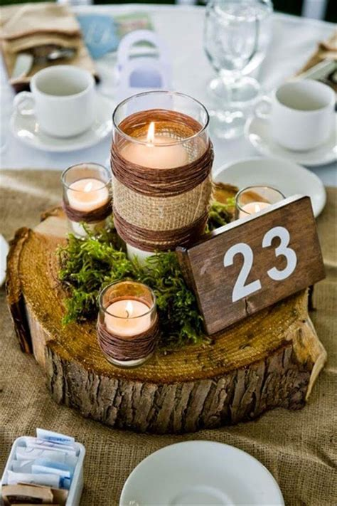 Mason Jar Diy Wedding Centerpieces