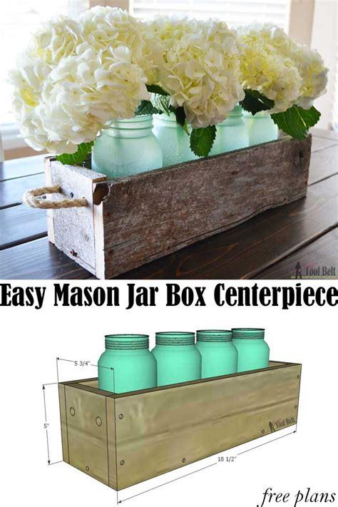 Mason-Jar-Box-Centerpiece-Plans