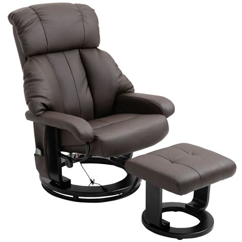 Massage Recliner Chair With Footstool