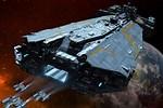 Massive Capital Starship Battle