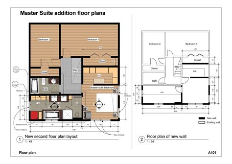 Master Suite Addition Floor Plans
