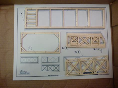 Matchstick Model Plans Free Download