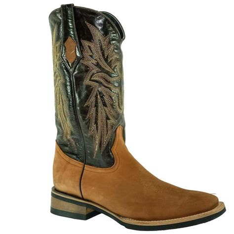 Maverick Brown Mens Western Cowboy Boots