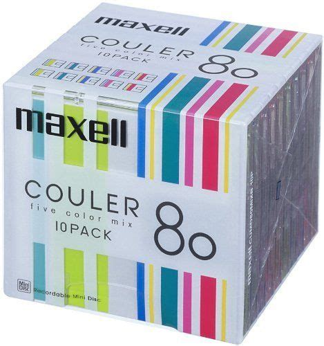 Maxell Blank MD 80min 10 pakcs from JAPAN