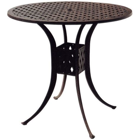 Mckinney Round Bar Table By Astoria Grand