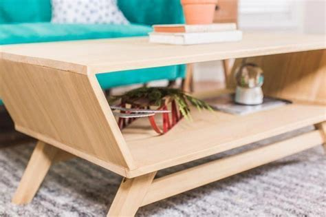 Mcm Coffee Table Diy Top