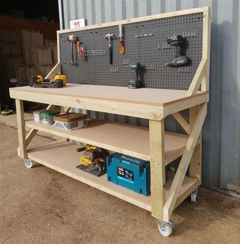 Mdf-Storage-Bench-Plans