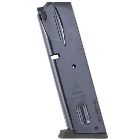 Mec Gar S W Semi Auto Magazines S W 5900 9mm Blue 15 Rnd