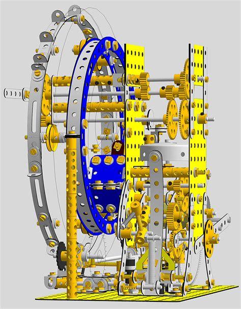 Meccano-Clock-Plans