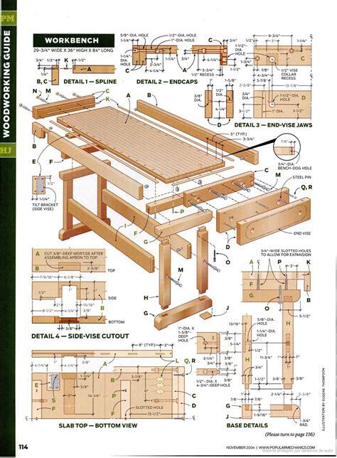 Mechanical-Workbench-Plans