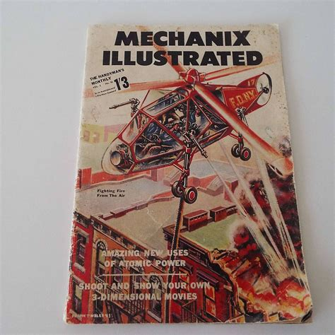 Mechanix Illustrated Magazine Diy Projects