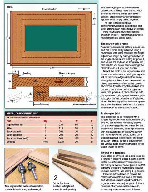 Medal-Display-Case-Plans