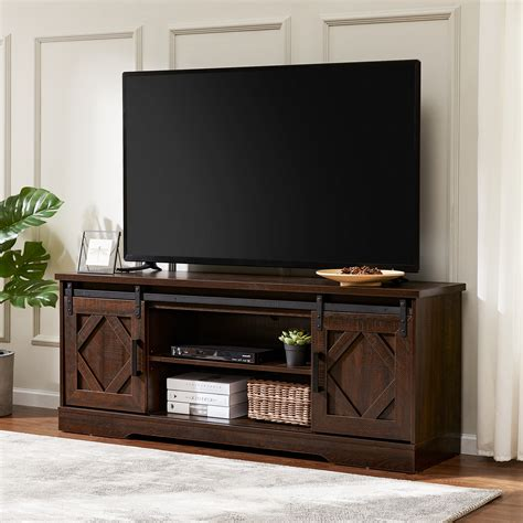 Media Console Table With Storage