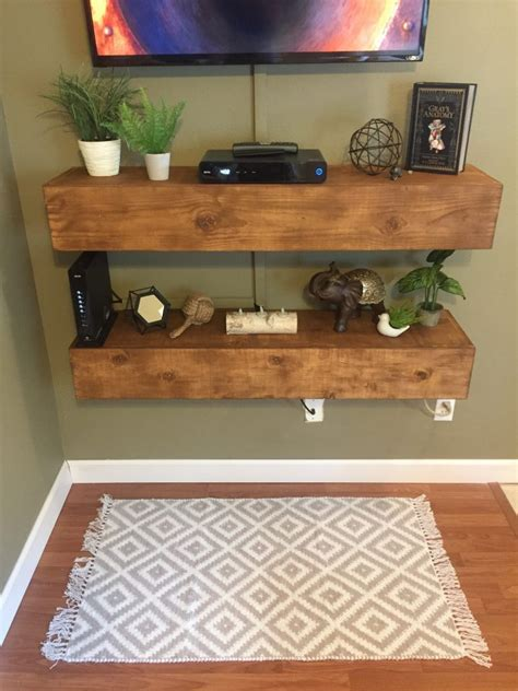 Media Shelving Diy