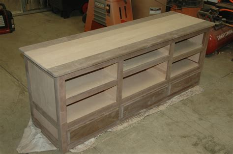 Media Stand Woodworking Plans