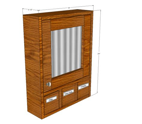 Medicine-Cabinet-Wood-Working-Plans