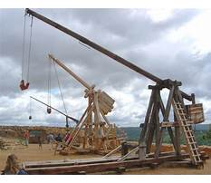Best Medieval trebuchets in action