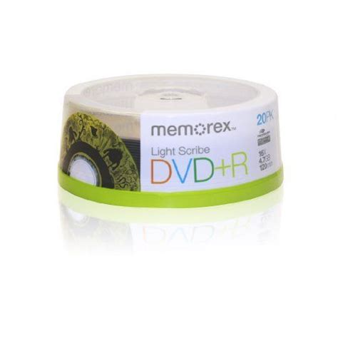 Memorex 16x DVD+R Light Scribe 20 Pack (32024708)
