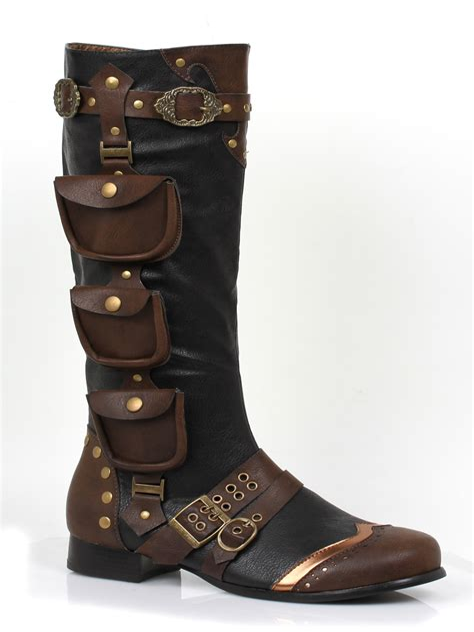 Men Knee High Boots