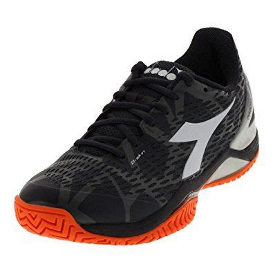 Men`s Speed Blushield 2 Clay Tennis Shoes Anthracite and White-(172985-C