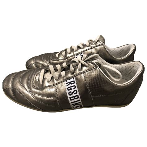 Men´s white shoes Dirk Bikkembergs R-Evolution leather white