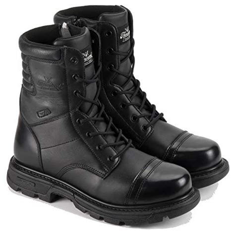 "Men's 8"" Side Zip Jump Boot Gen-flex"