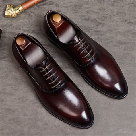 Men's Trustee Leather Oxford Dress Shoe
