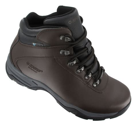 Men's Waterproof Leather Hiking Boots