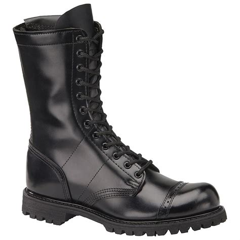 Men's 10 Inch Side Zipper Jump Work Boot