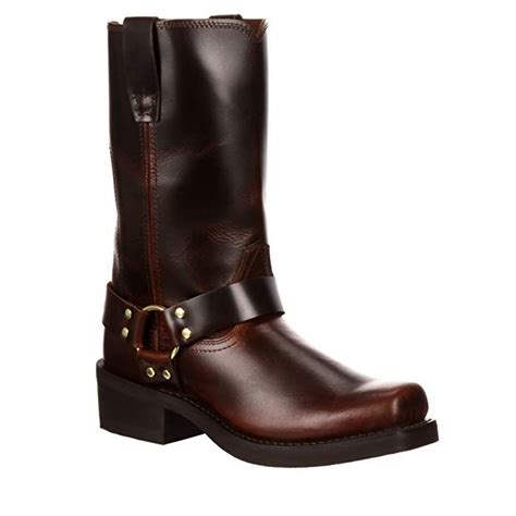 Men's 11' Brown Harness Flex Forepart Western Boot-DB514