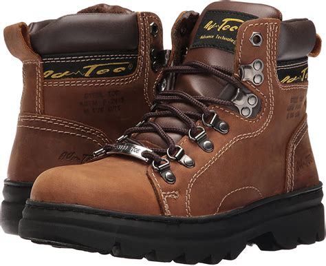 Men's 1977 6' Steel Toe Hiker Brown Work Boot