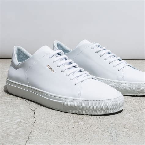 Men's 21290547 White Leather Sneakers