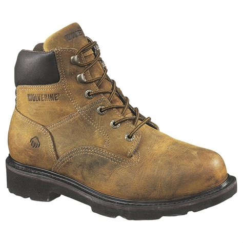 Men's 6' Saturn Steel Toe Boots