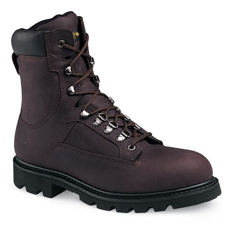 Men's 6' Steel Toe EH Waterproof Insulated Boot
