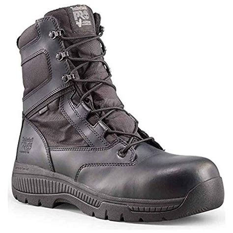 Men's 6' Valor Comp Toe Waterproof Side Zip Work Boot