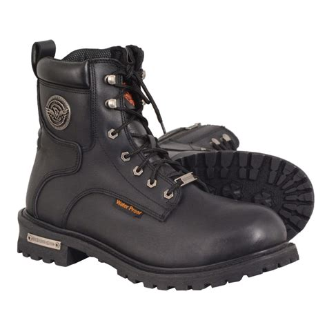Men's 6' Waterproof Lace-To-Toe Leather Logger