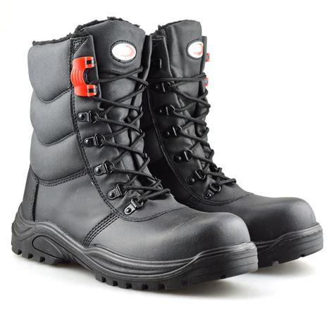 Men's 6'' Waterproof Safety Toe Leather Work Boots