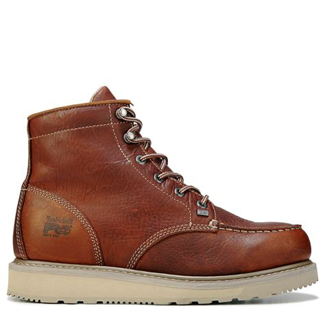 Men's 6'' Wedge Leather Work Boots