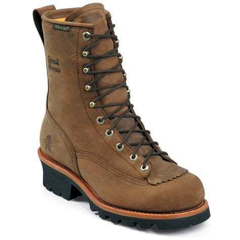 Men's 73101 8' Lace-To-Toe Logger Waterproof Boot