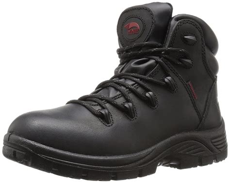Men's 7623 Leather Waterproof Soft Toe EH Work Boot Industrial and Construction Shoe