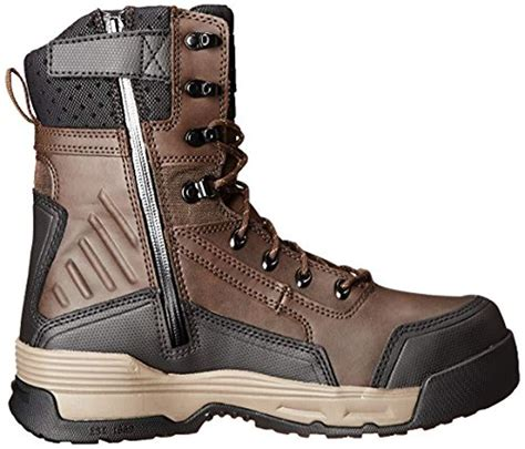 Men's 8' Force Waterproof Composite Toe Insulated Work Boot With Zipper CMA8359