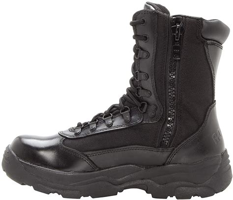 Men's 8' Fort Hood Side Zipper Waterproof Duty Boot-2149