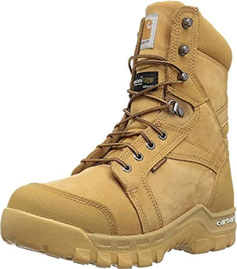 Men's 8' Rugged Flex Insulated Waterproof Breathable Soft Toe Work Boot