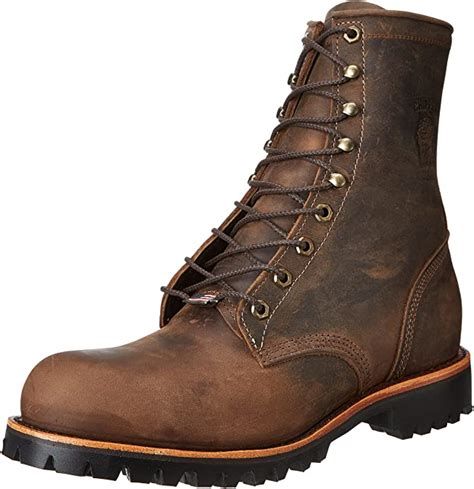 Men's 8' Steel Toe EH 20086 Lace Up Boot