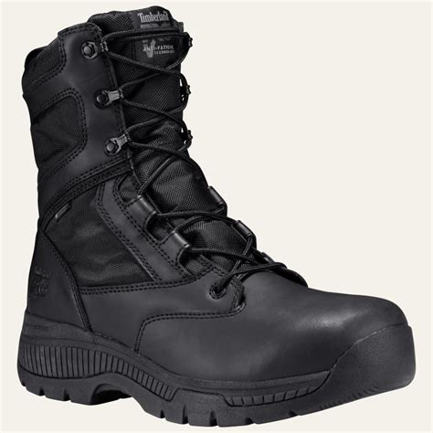 Men's 8' Valor Soft-Toe Side-Zip Duty Boot