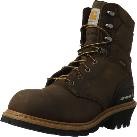Men's 8' Waterproof Breathable Soft Toe Logger Boot CML8160
