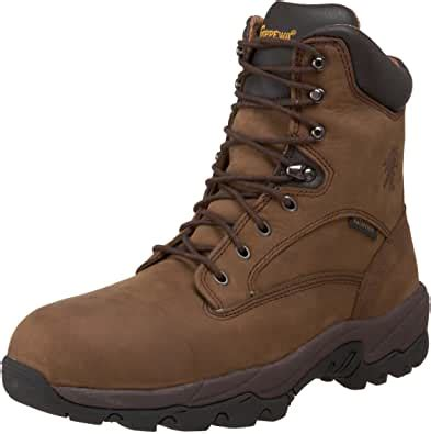 Men's 8' Waterproof Insulated Comp Toe 55168 Lace Up Boot